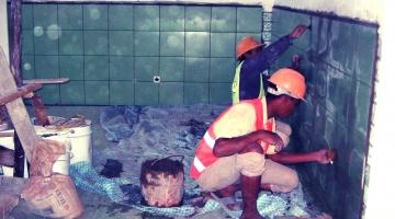 sala reanimacji w budowie