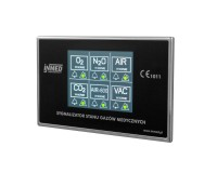Alarm panels for medical gases