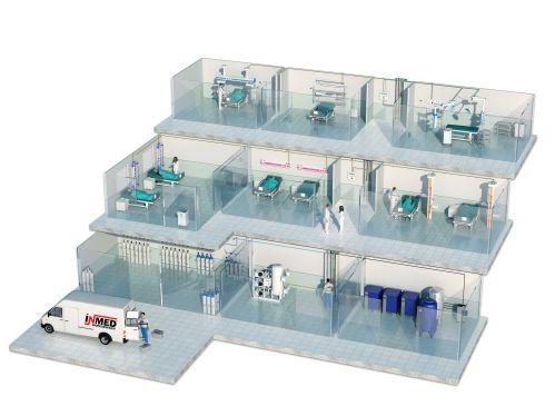 Systemy rurociągowe dla gazów medycznych