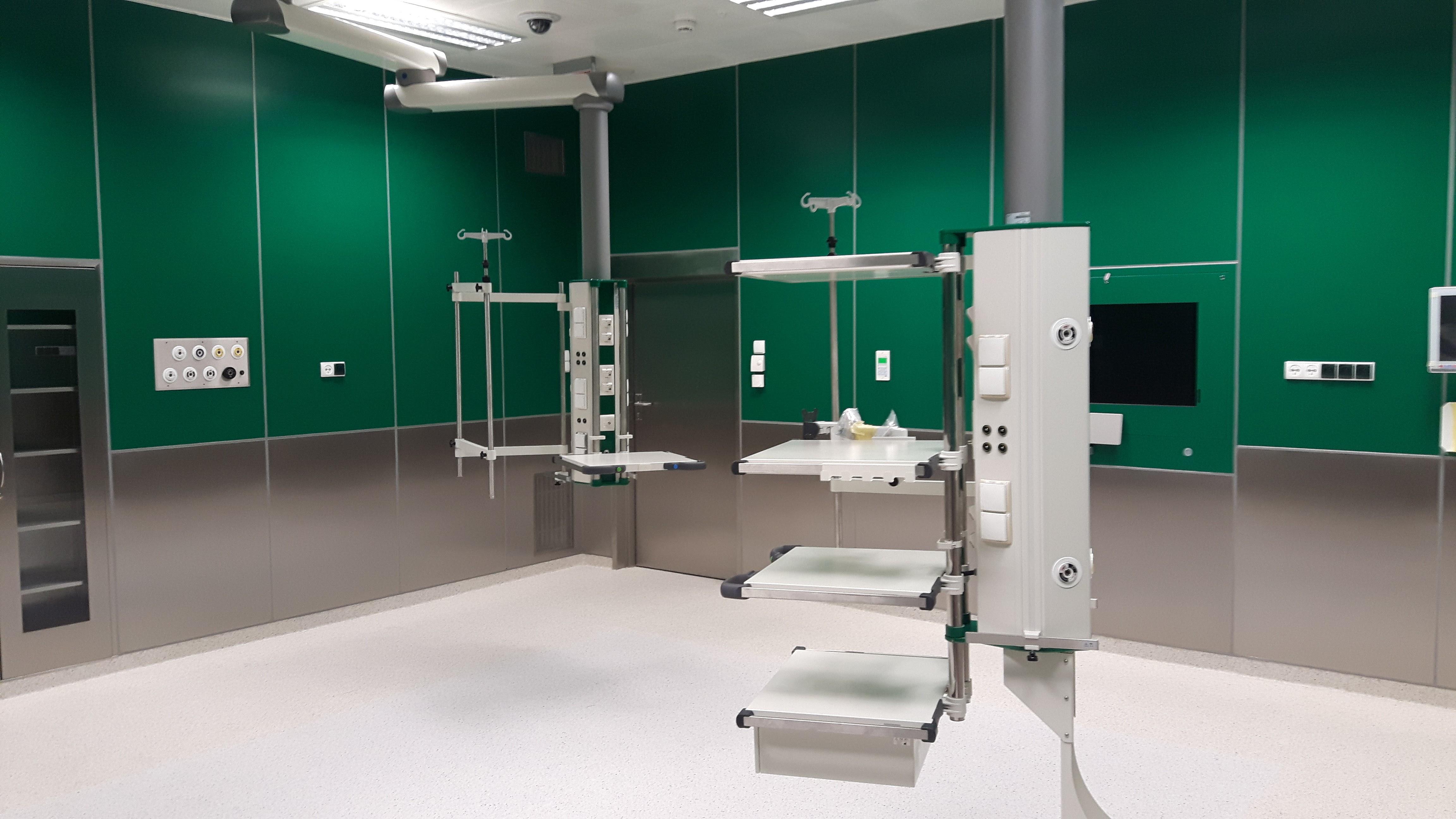 systemy rurociągów dla gazów medycznych